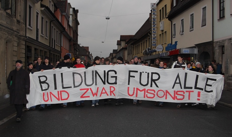 Demo in Erlangen